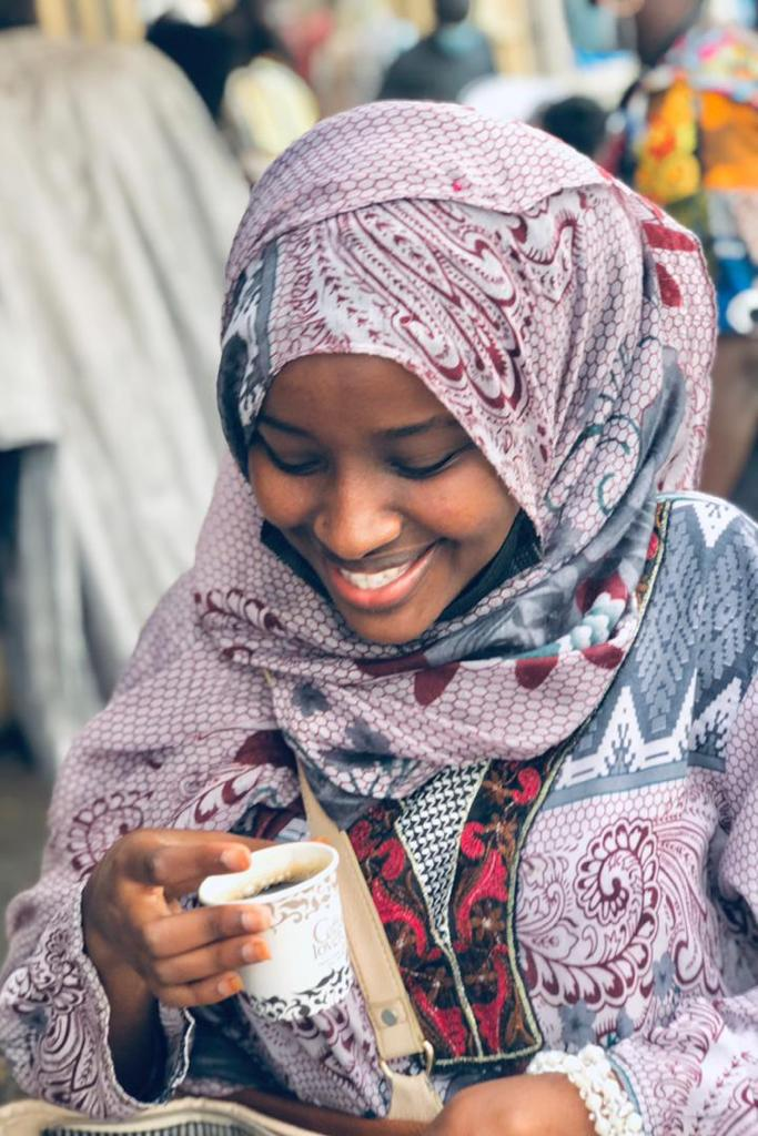 Team comme un air de hijab Binta